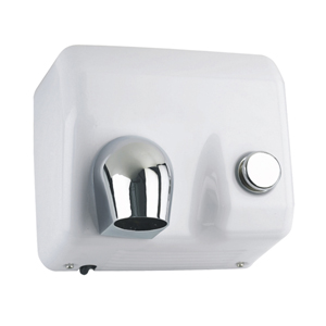 Hiflow Plus Push-Button Operated Hand Dryer