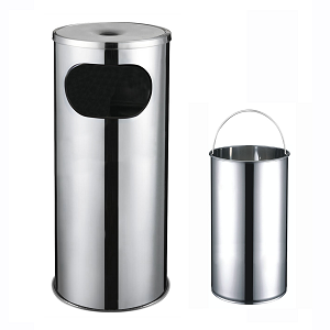 Bin with Ashtray Pan