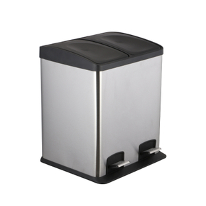 2 Compartment Recycle Bin