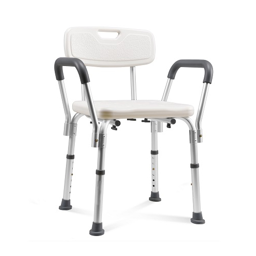 Shower Chair with Handle And Back Rest