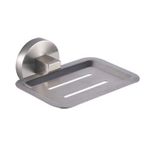 Stainless Steel Satin Soap Dish